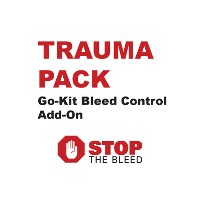 Trauma Pack Add On for Classroom Go-Kits by Edu-Care